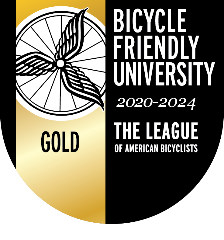 Bicycle Friendly University Gold Level