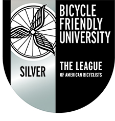 Bicycle Friendly University Silver Level