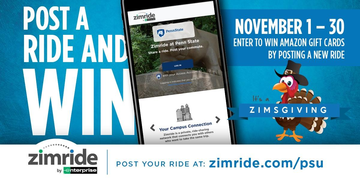 Zimsgiving sweepstakes