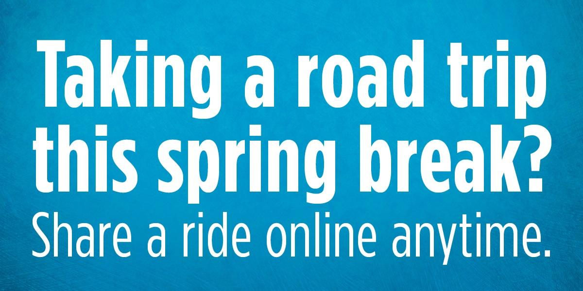 Spring break travel with Zimride