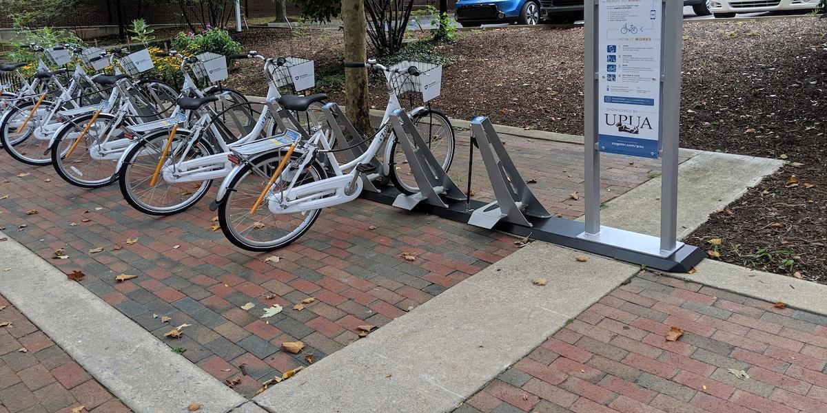 Zagster downtown station